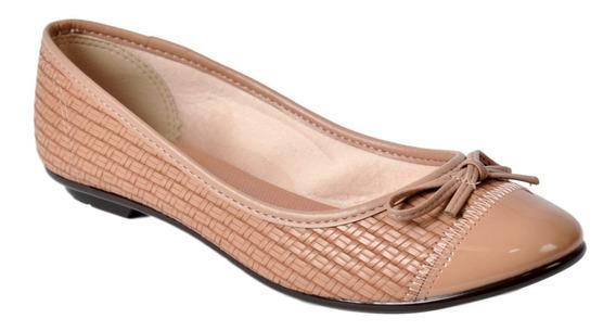 Zapato Chatita Balerina Mujer Massimo Chiesa 18670 Acolchada