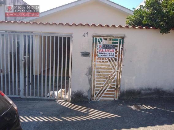 Casa Com 2 Dormitórios Para Alugar, 80 M² Por R$ 1.100/mês - Vila Pagano - Valinhos/sp - Ca0673