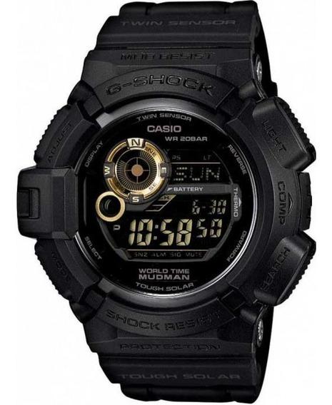 Relógio Casio Solar G-shock Mudman G-9300gb-1dr Original/nfe