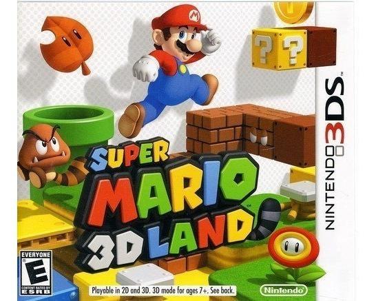 Super Mario 3dland Videojuego 3ds Nintendo