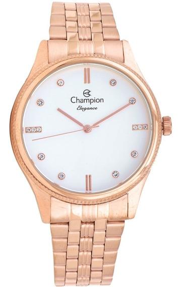 Relógio Feminino Champion Rose Cn25841z