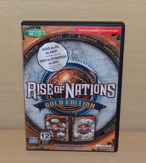 Rise Of Nations - Gold Edition - Pc