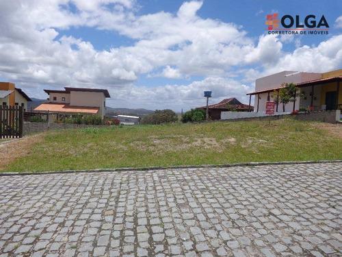 Imagem 1 de 16 de Terreno No Condomínio Bromélia Da Terra, À Venda - Gravatá/pe - Te0289