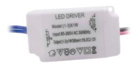 Reator Transformador Conversor Led Driver 85-265v Ac 12v Dc