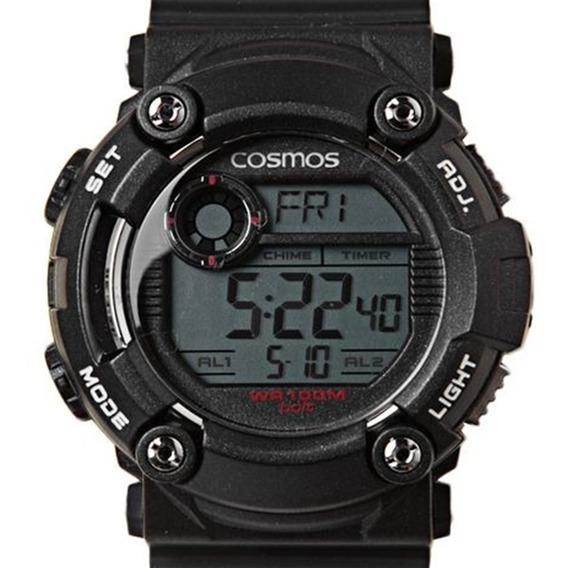 Relógio Cosmo Original C/ Nota Fiscal Masculino Sk55