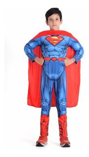 Fantasia Infantil Super-homem Premium Tamanho M - Bonellihq