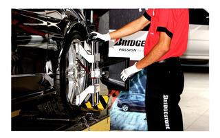 2 Alineaciones 3 D + 4 Bal + Rotación Bridgestone Para Autos