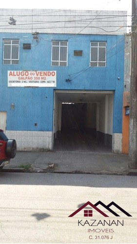 Galpão 350m² - Vila Nova.  - 927