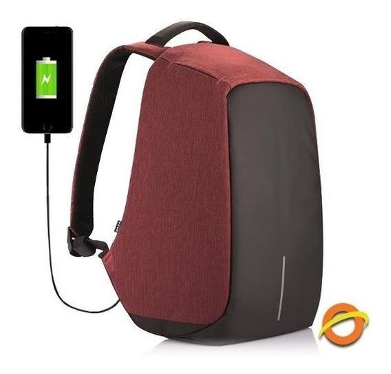 Mochila Antirrobo Porta Notebook + Cargador Regalo Empresa