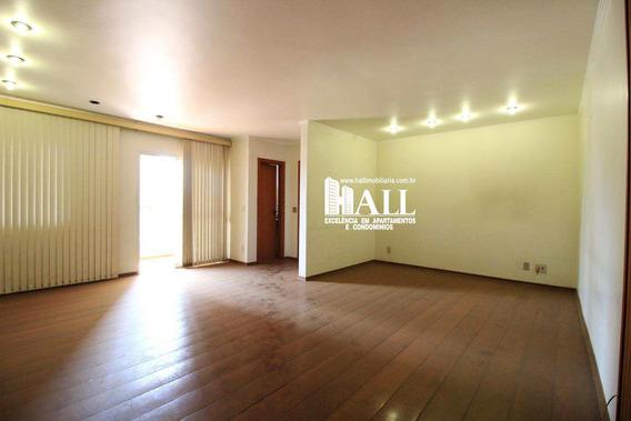 Apartamento Com 4 Dorms, Vila Imperial, São José Do Rio Preto - R$ 448.000,00, 175m² - Codigo: 3158 - V3158