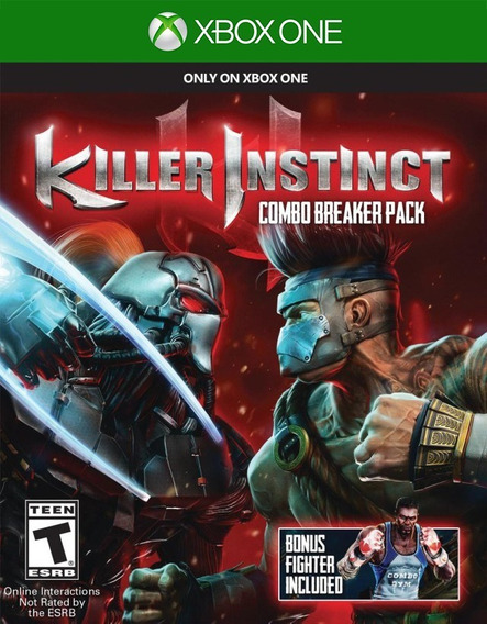 Killer Instinct Xbox One - 100% Original (mídia Física)