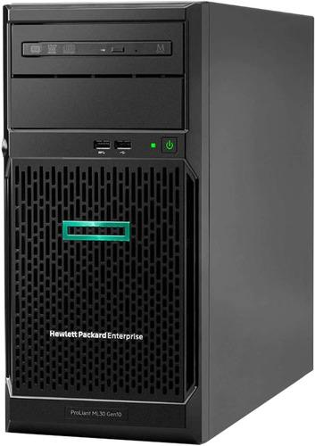 Servidor Hp Proliant Ml30 G10 Xeon E-2124 16gb 4core Quad