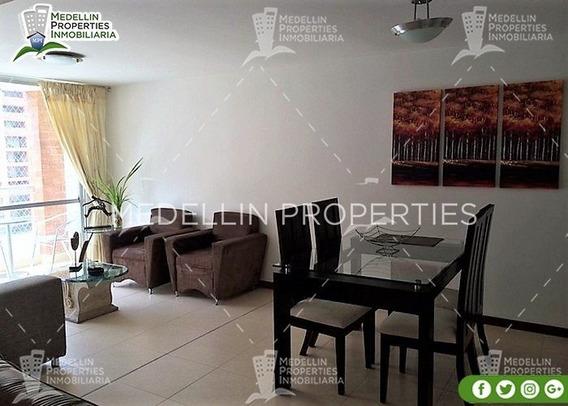 Apartamentos Y Casas Amobladas Por Dias En Medellin Cód:4116