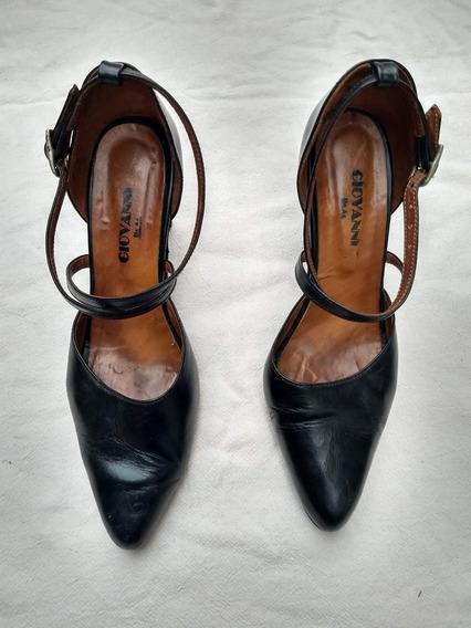 Zapatos Mujer Tango Usados Negros