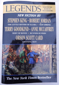 Legends - Stephen King - George R.r. Martin - Orson Scott