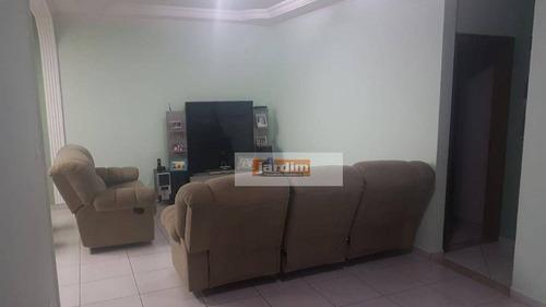 Imagem 1 de 3 de Maravilhosa Casa Com 3 Dormitórios Sendo 1 Suíte À Venda, 270 M²  - Paulicéia - São Bernardo Do Campo/sp - Ca1066