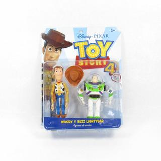 Set Woody Y Buzz Ligtyear Toy Story4 Original Juguete Niños