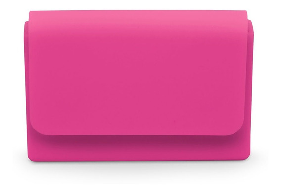 Portatarjetas Silicona Imantado Colores Card Folder Gato