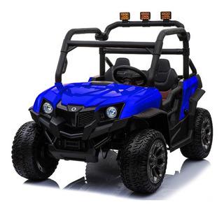 Utv Buggy Auto Electrico Niño 4x4 Full Cuero