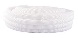 Caño Corrugado Pvc Flexible Reforzado Ignifugo 1 1/2 Blanco