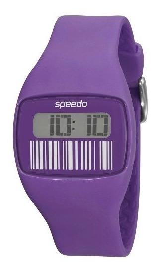 Relógio Feminino Digital Speedo 65014l0ebnp4 - Lilás