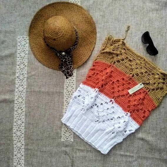 Remera Tejida Crochet
