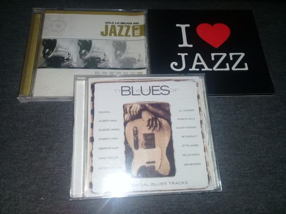 Lote 3 Cds Jazz Y Blues