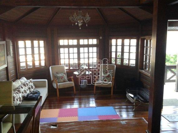 Casa Com 5 Dormitórios À Venda, 299 M² Por R$ 1.250.000 - São Francisco - Niterói/rj - Ca0010