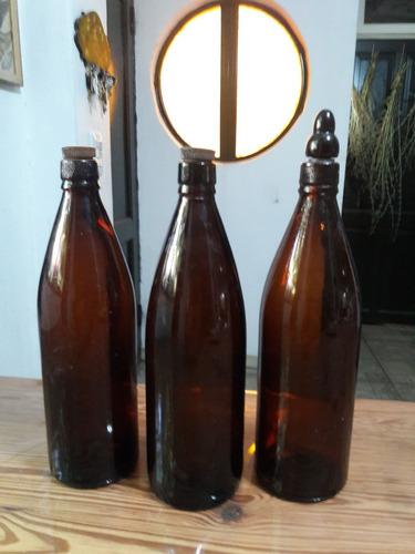Botella Antigua Grabada Fcc .rara
