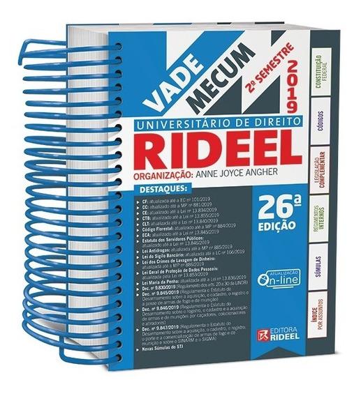 Vade Mecum Universitário De Direito Rideel ( Última Edição )