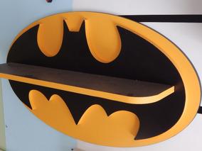Prateleira Do Batman Em Mdf C Painel - Revestimento Fórmica