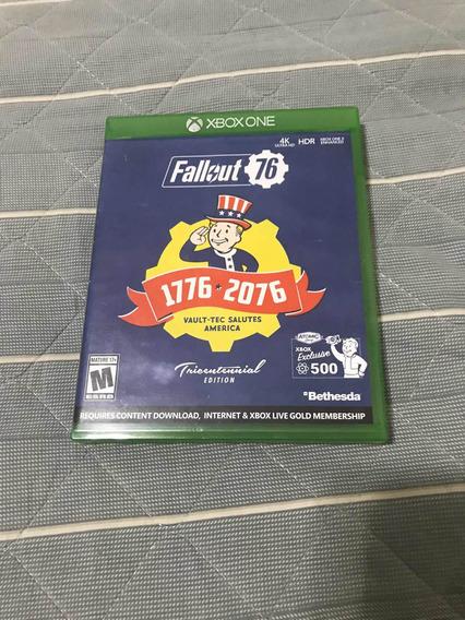 Mídia Física Xbox One Fallout 76.