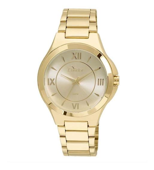 Relógio Condor Feminino Dourado Co2035kof4d