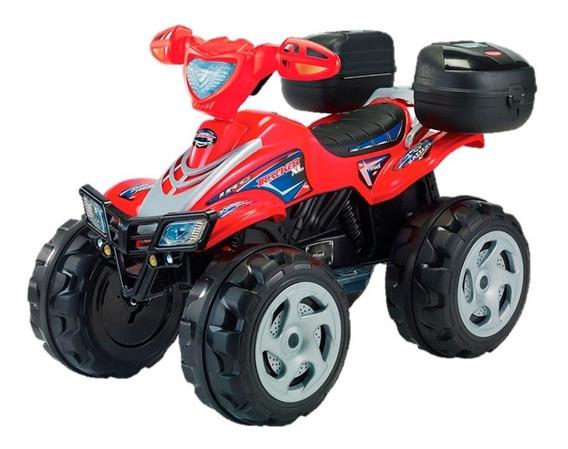 Moto Electrica Para Niño Prinsel Tracker Boy Roja