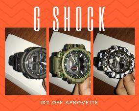 Relógio G Shock Vários Modelos E Shock Choque Prova D