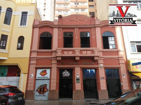 Sala Com Mezanino, À Venda - Centro - Em Frente Praça Generoso Marques - Sa0033
