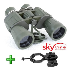 Binóculo Skylife Militar 20x50 Mt + Adaptador Celular Adtx
