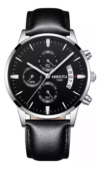 Relógio Nibosi 2309 Masculino Resistente Águas 3atm