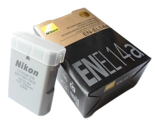 Bateria Original Nikon En-el14a D3100 D3200 3300 D5100 D5300