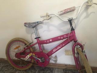 Bicicleta Rodado 16 Nena Excelente Estado