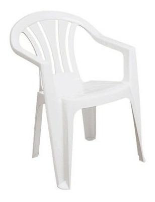 Poltrona Plástica Alta Branca Tramontina 28108
