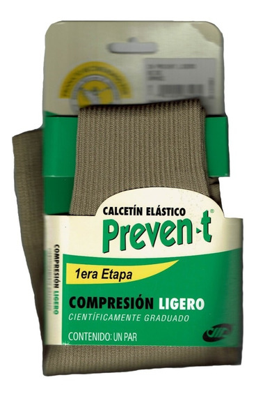 Calcetines Hombre Preven-t Nylon Compresión Ligero 16a18mmhg