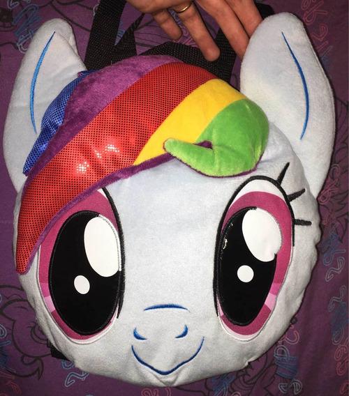 Mochila Plush Peluche My Little Pony Rainbowdash