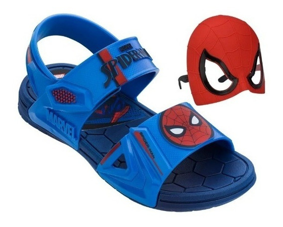 21998 Sandália Marvel Hero Glasse + Óculos Do Super Herói