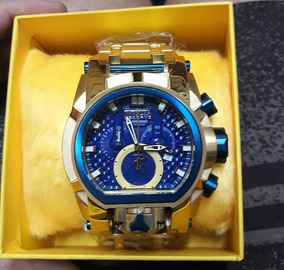 Relógio Invicta Bolt Reserve Zeus Magnum Thunderbolt Dourado