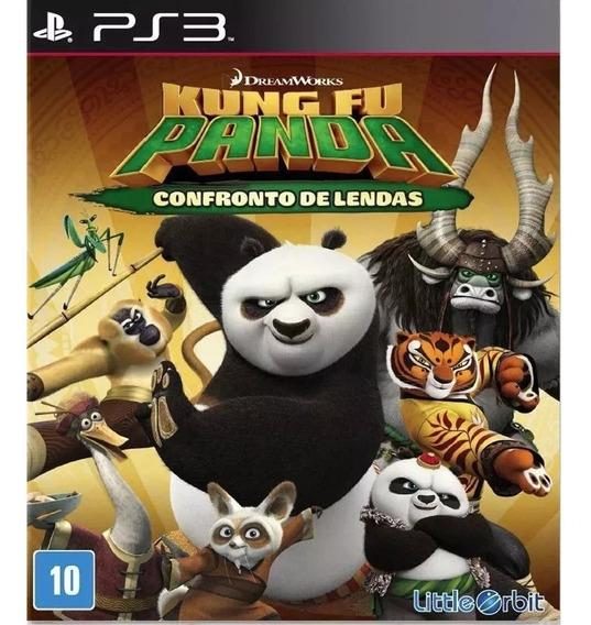 Kung Fu Panda Confronto De Lendas Ps3 Promoção