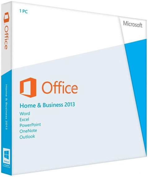 Microsoft Office Home Business 2013 Fpp Retail Box Dvd
