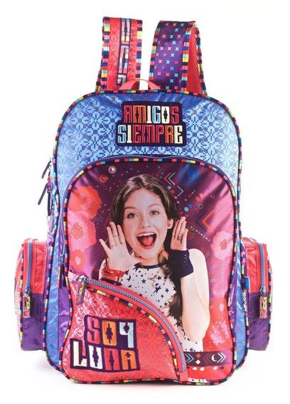 Mochila Soy Luna 18 Pulgadas 81460 Mejor Precio!!