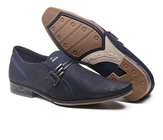 Sapato Social Pegada Esporte Fino Em Couro Masculino