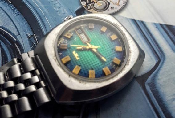 Relógio Technos Automático Mostrador Verde